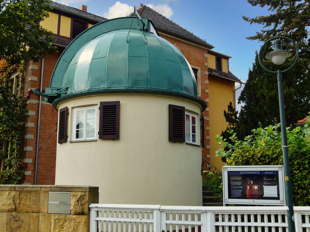 Sternwarte Dresden auf dem Weißen Hirsch