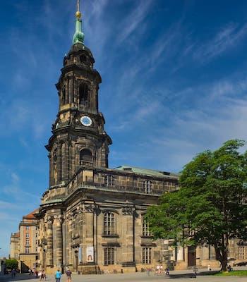 Die Kreuzkirche Dresden